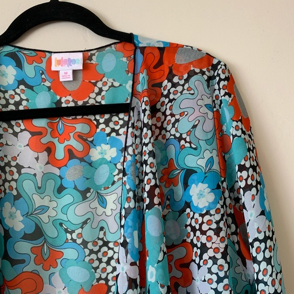890d548d916576 M NWT LulaRoe Shirley kimono